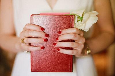 Manicure de colores para novias ¿te atreves?