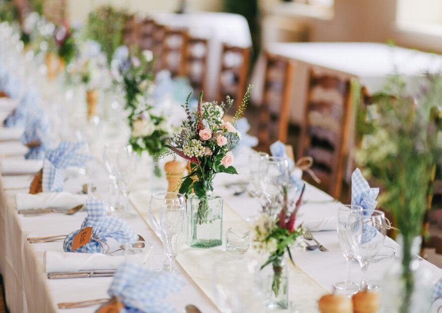 Cómo elegir el local para tu recepción de matrimonio. ¡Cinco aspectos en los que debes fijarte!