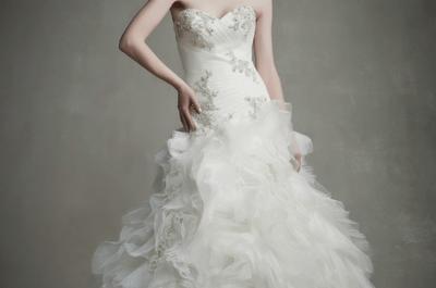 Enzoani 2015: Vestidos de novia que le dan vida a la más sofisticada elegancia
