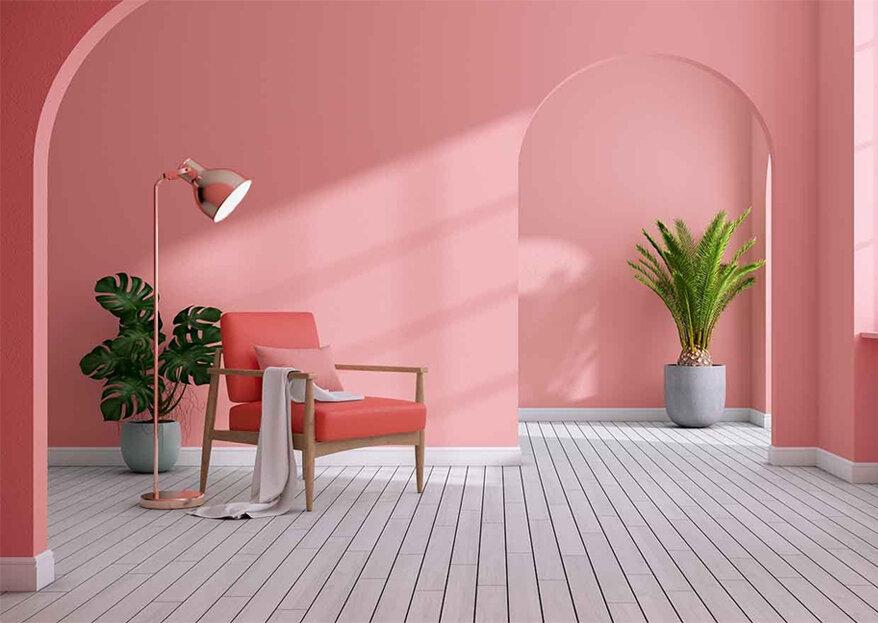 Vista a sua casa com a cor da moda: Living Coral