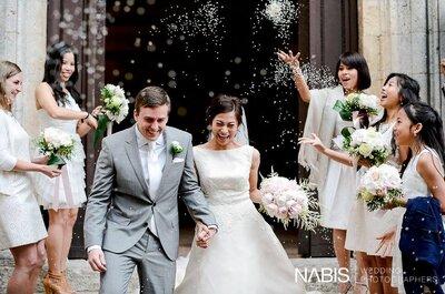 La perfezione per le decorazioni del tuo matrimonio? Ecco come!