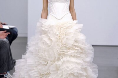 Vera Wang Wedding Dresses Fall 2013: A Return to Tradition