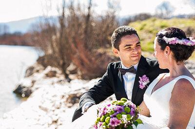 Un sueño de invierno: la boda de Deborah y Juan Diego