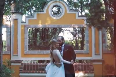Reír, reír y bailar sin parar: la boda Bárbara y Vicente desde Madrid a Valencia