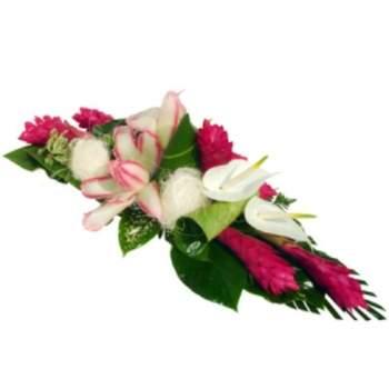 Centre de table Félicité - Crédit photo: Fleurs Lointaines