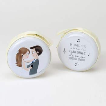 Portamonete sposi con cerniera - Compra en The Wedding Shop