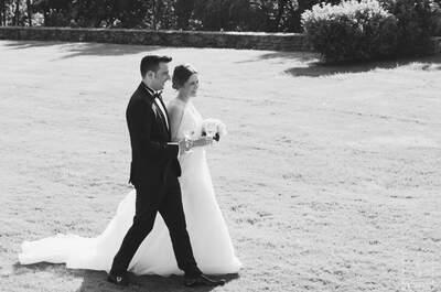 Para ambos el día más feliz de sus vidas: la bonita boda de Paula y Carlos