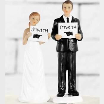 Cake Topper Ensemble Pour L'avenir - The Wedding Shop !
