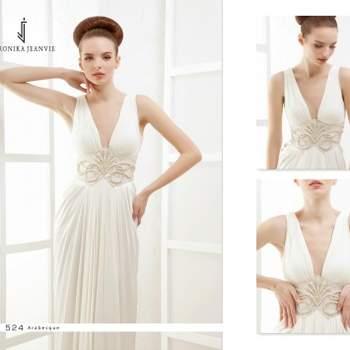 Robe de mariée Veronika Jeanvie - modèle Arabesque