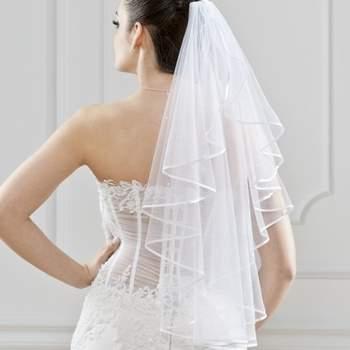 Voile de mariée en tulle - Crédit photo: Robes Gallery