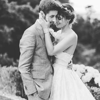 Andreia Rodrigues partilhou no seu IG @andreiarodriguesoficial uma foto do seu casamento. Na legenda, apenas «Namorados!»