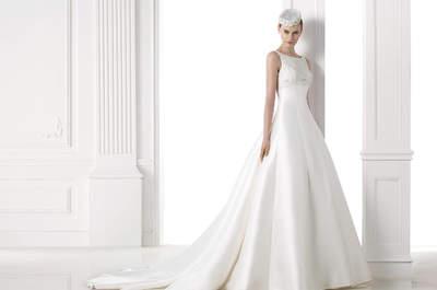 Свадебного платья А-силуэт: утонченный образ дл невесты