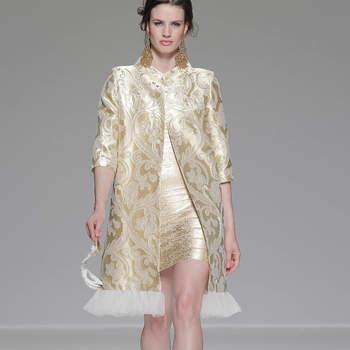 d154651970 Colección vestidos de fiesta Matilde Cano 2014