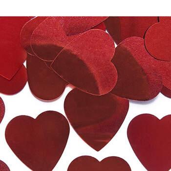 Foto: Maxi corazones rojos