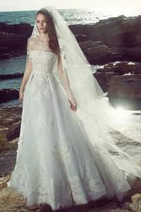 Sie trägerlose Brautkleider 2017