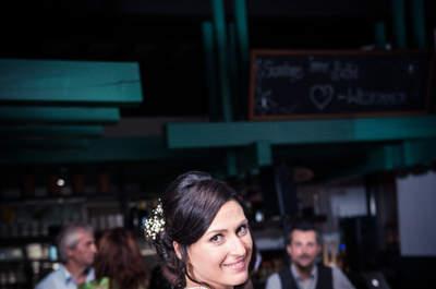 Rustikale Hochzeitsfeier mit Vintage-Elementen – So individuell war die Hochzeit von Sandra & Matthias