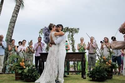 A Noiva em Forma casou! Casamento lindo e emocionante de Carina e Eduardo em Maresias!