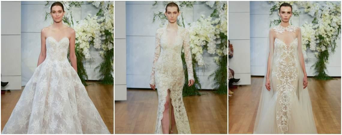 Załóż suknię ślubną Monique Lhuillier 2018 i bądź jeszcze bardziej chic. Odkryj je!