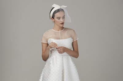 Vestidos de noiva curtos: os modelos mais magníficos. Atreva-se!