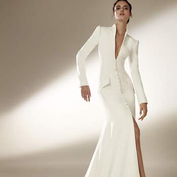 Créditos: Pronovias Cruise 2021 | Modelo do vestido: Wilder