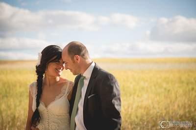 Solidaridad y emoción: la boda de JuanCar y Sandra
