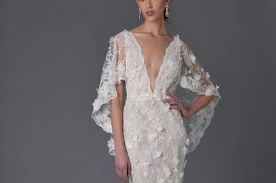 Vestidos de novia Marchesa 2017: ¡Un mundo de fantasía!