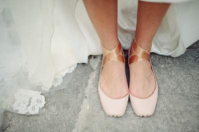 Ballerina-Inspired Wedding Shoes: Discover the Latest Trend for Elegant and Feminine Brides