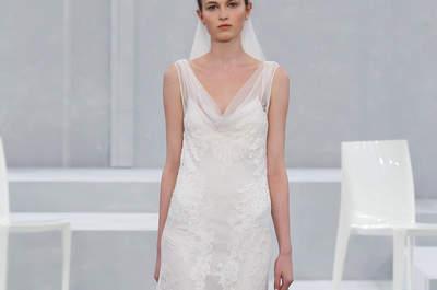 Monique Lhuillier 2015: Vestidos de novia que cobran vida a cada paso... ¡Elegancia indescriptible!