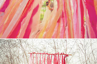 DIY paper decorations to declare your wedding style
