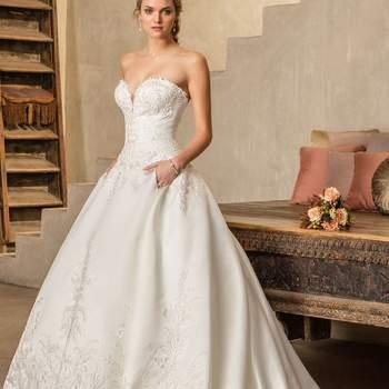 Style 2303 Oleander. Credits- Casablanca Bridal.