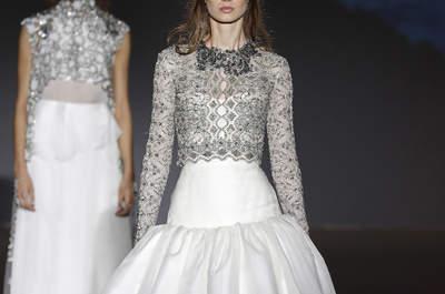 Vestidos de novia Jesús Peiró 2016: magníficos detalles