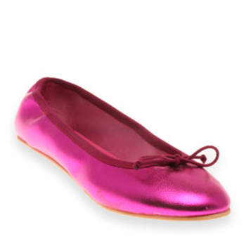 Ballerine Flashy couleur fushia, Koah Source : journaldesfemmes.com