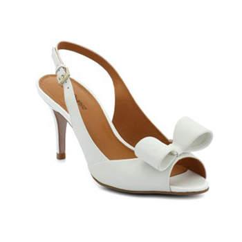 Sapato de noiva branco. Solale Mariage.