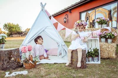 El rincón más especial para tus pajes de boda: inspírate con estas ideas