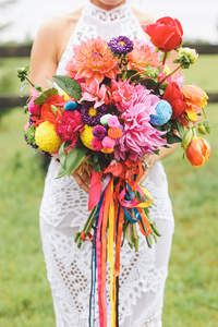 5 tendências de buquê de noiva
