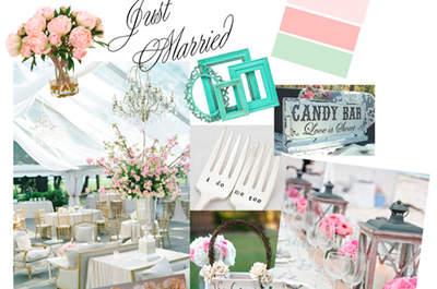 3 ideas originales de decoración de bodas por Bliss Eventos