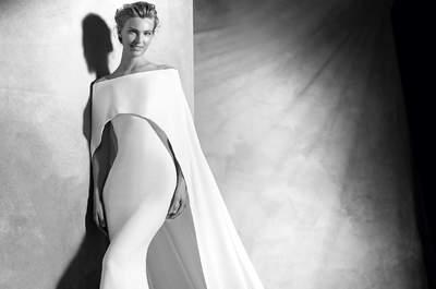 42 wspaniałe suknie ślubne idealne na ślub zimową!