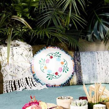 Cojín México Boho- Compra en The Wedding Shop