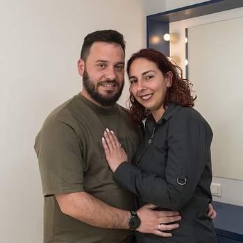 """Oriundos dos Olivais, Ana Geraldes e Marco Martins irão também dizer o """"Sim"""" na Sé de Lisboa. A administrativa e o Mecânico do Frio, ambos de 31 anos, têm por lema que """"o amor é superação"""""""
