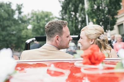 Heiraten im Bauerngarten in der Nähe von Berlin – Melanie & Daniel machen's vor!