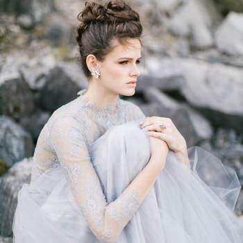 Cabelo de noiva preso | Credits: Maria Lamb Photography
