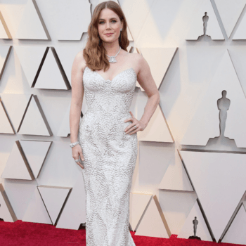 Amy Adams vestida por Atelier Versace / Cordon Press