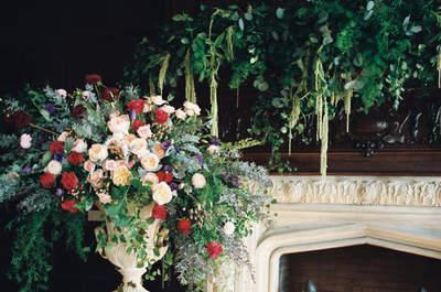 25 ideas hermosas para decorar una boda inspirada en la Navidad: ¡Wow!