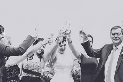 A expressão do amor: como reagem os pais quando vêm as filhas vestidas de noiva