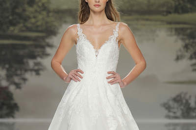 Brautkleider mit voluminösen Röcken: Wählen Sie für Ihre Hochzeit Aufmerksamkeit pur