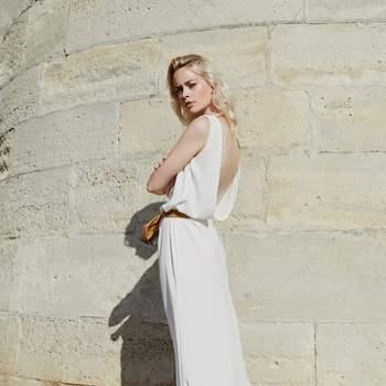 Photo : Camellia Menard, modèle : Emma Houvenagel, robe pique et lame