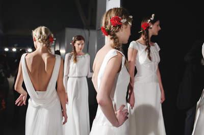 Peinado de novia con trenza 2015, modelos de inspiración con toques románticos y muy femeninos