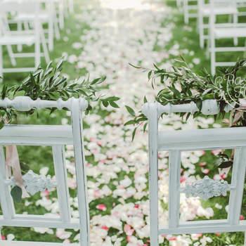 Dekoracje ślubne na ślub w ogrodzie 2017. Zamarzysz o takim klimacie!