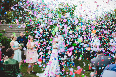 Josh marrying Craig and Lisa | Photo: Stewart Ross