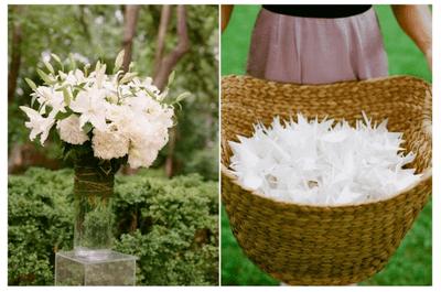 Blanca magia, blanca perfección: La mejor decoración para una boda sutil y atemporal